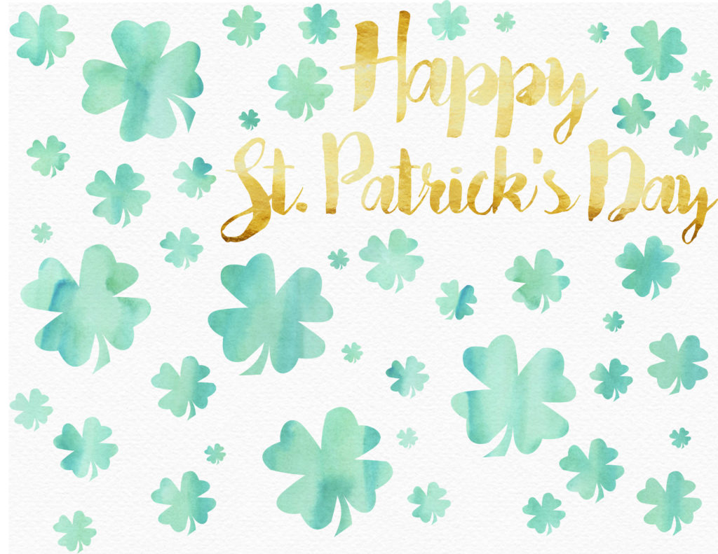 Happy St. Patrick's Day FREE PRINTABLE