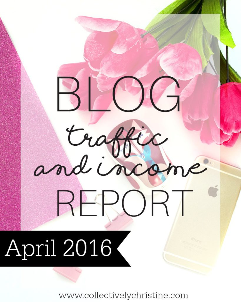 April Income and Traffic Report