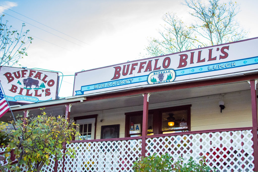 Buffalo Bill's Cafe Julian California