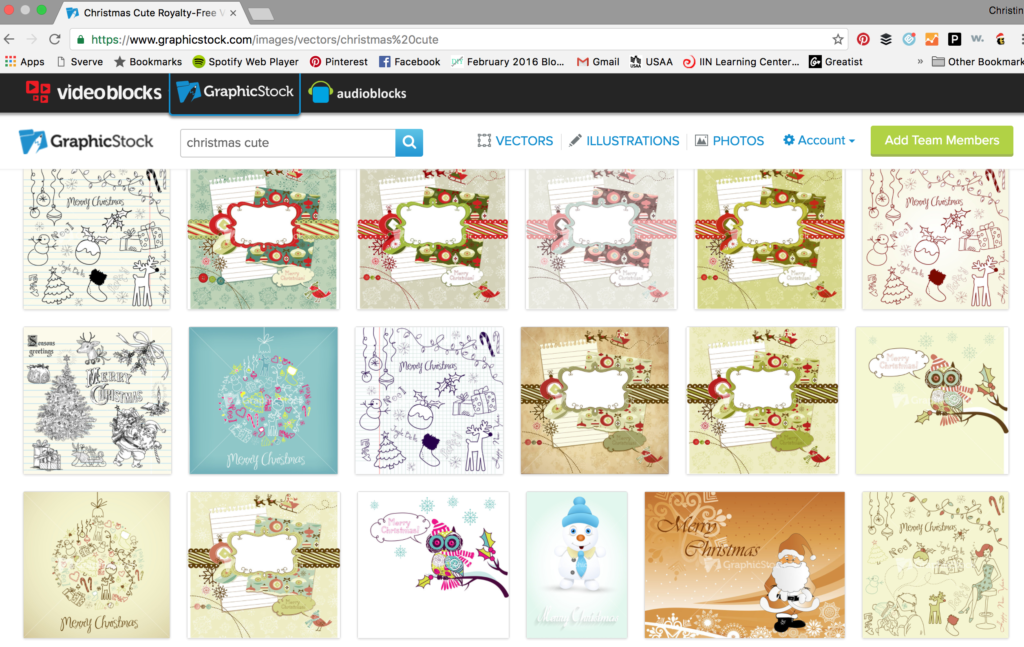 GraphicStock Cute Christmas art and graphics.