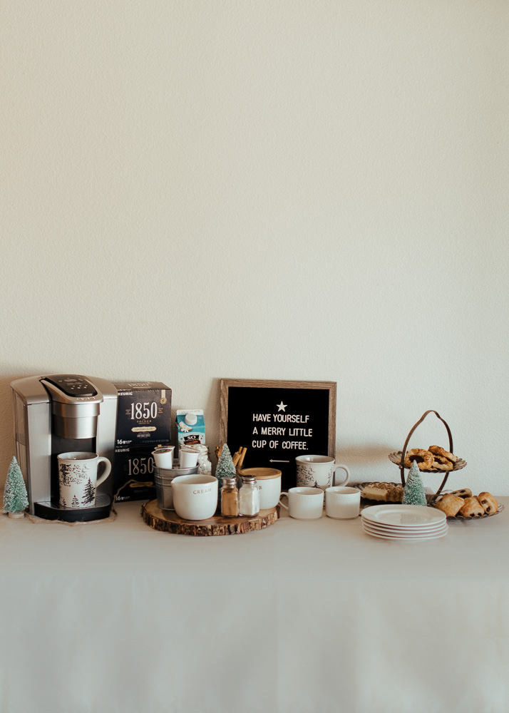 How to Create a Holiday Coffee Bar