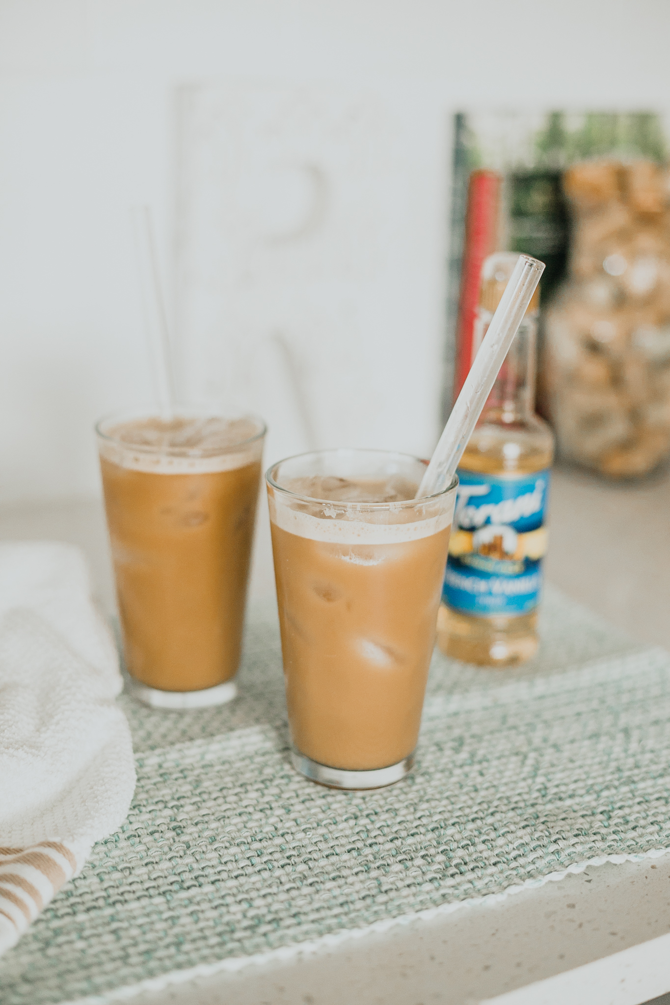 Vanilla Bulletproof Iced Coffee
